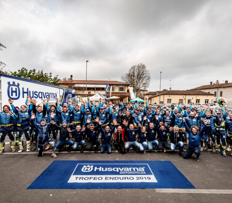La prima del Trofeo Enduro Husqvarna 2019